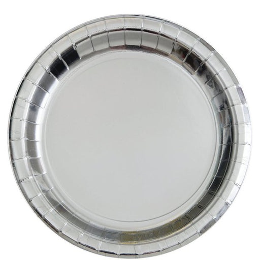 Lunch Plates - Silver - 8pk