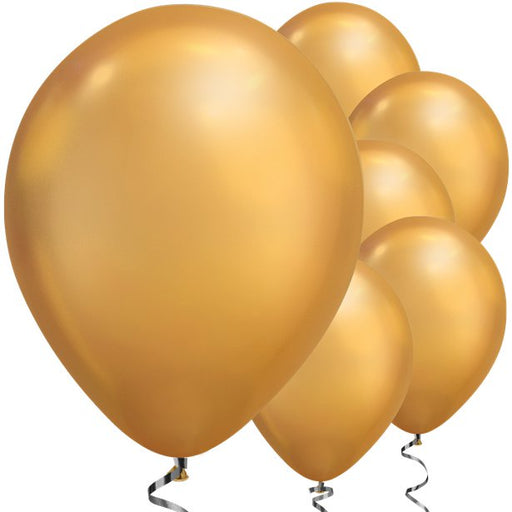 Balloons Latex - Chrome Gold - 11''