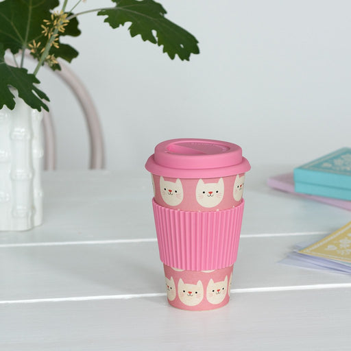 Cookie the Cat Bamboo Travel Mug