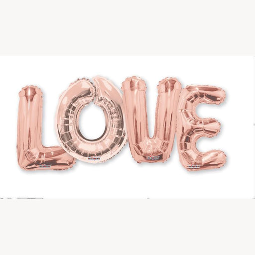 Balloon Bouquet Love - Rose Gold 14''