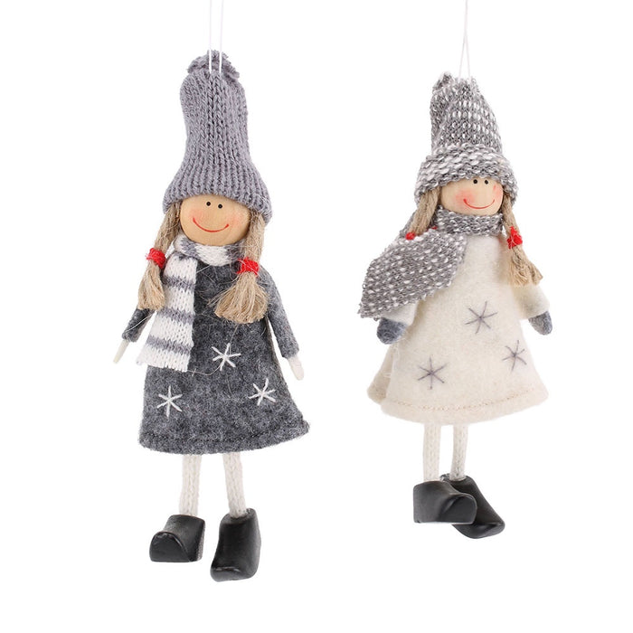 Fabric Girl - Christmas Decoration