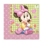 Lunch Napkins - Minnie First Birthday - 20pk