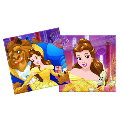 Beauty & The Beast Paper Napkins