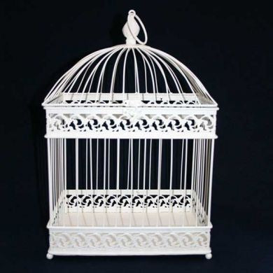 Bird Cage Cream - Rental 28X20X47cm