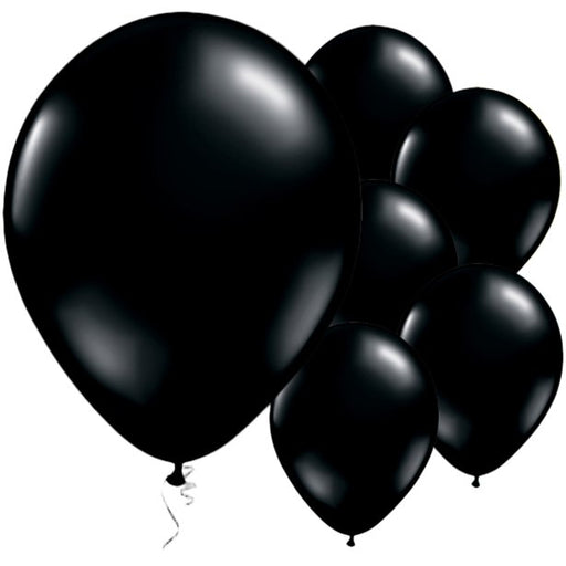 Balloon Latex Plain - Onyx Black 11''