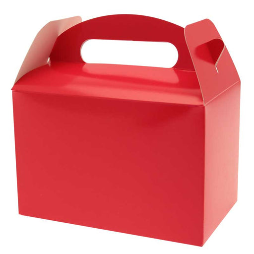 Party Boxes - Red - 6pk