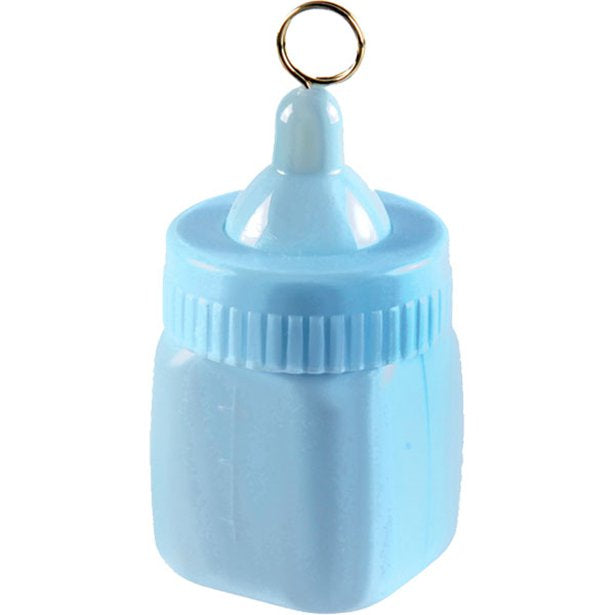 Balloon Weight - Baby Bottle Blue