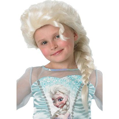 Childs Disney Frozen Elsa Wig