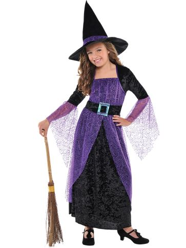 Pretty Potion Witch - Child Costume Small