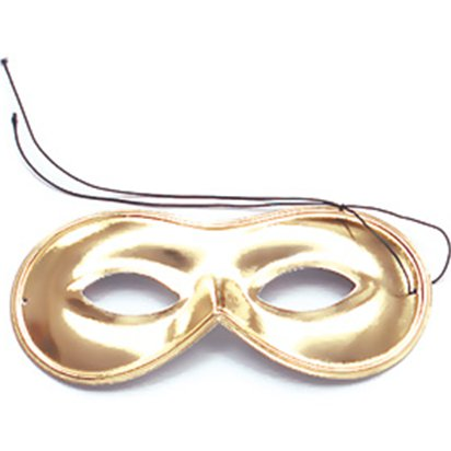 Gold Domino Masquerade Mask
