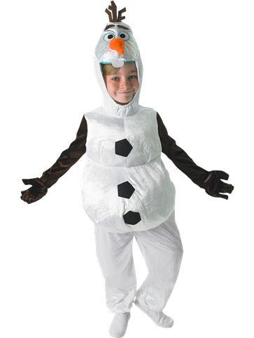 Olaf  Costume Large - 5-6 years