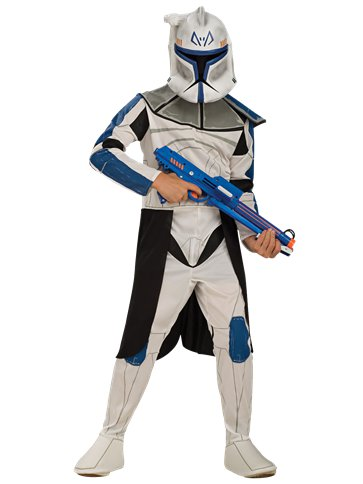 5-6 Years Clone Trooper Leader ''Rex Costume''