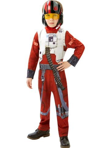 Classic Poe X-Wing Fighter - Star Wars - Medium