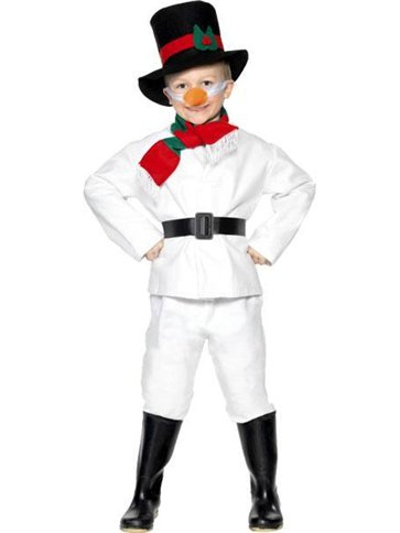 Child Snowman Costume Small