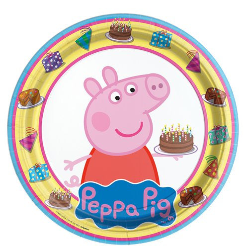 Party Plates - Peppa Pig - 8pk