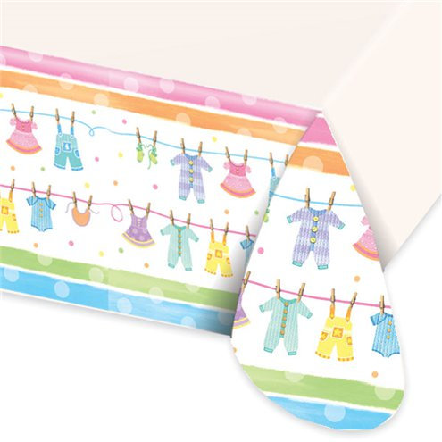 Baby Shower Plastic Tablecover