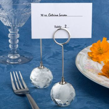 DC Choice Crystal Collection Crystal Ball Place Card