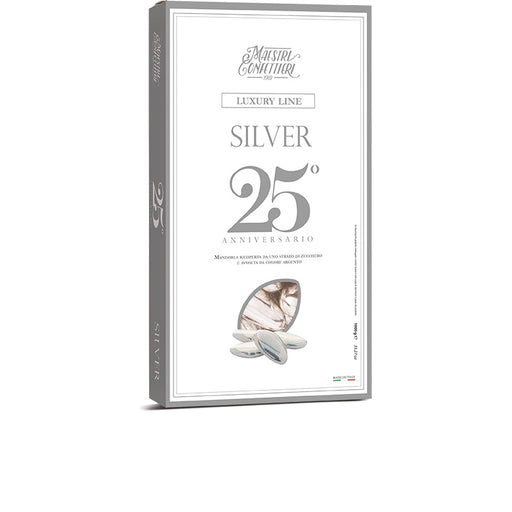 Sugared Almonds Silver 1kg