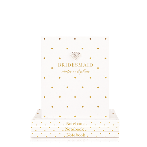 Small Notebook Bridesmaid Notes & Plans