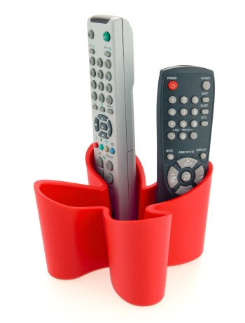 Remote Holder - Cozy Remote Control Tidy - Red