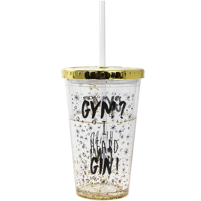 Cup with Straw - Gin Cup