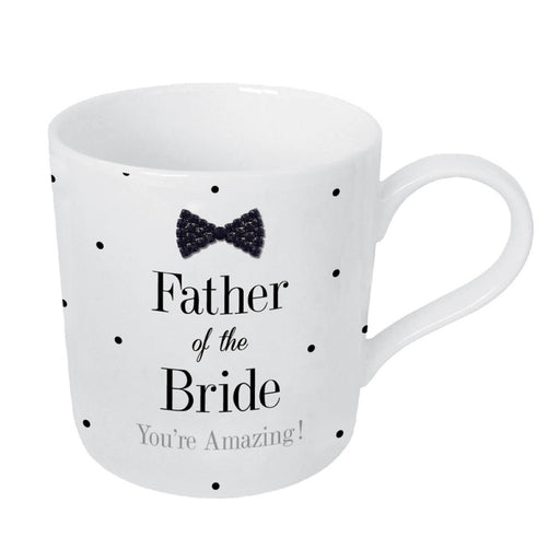 Mad Dots Black Tie Father of the Bride - Mug