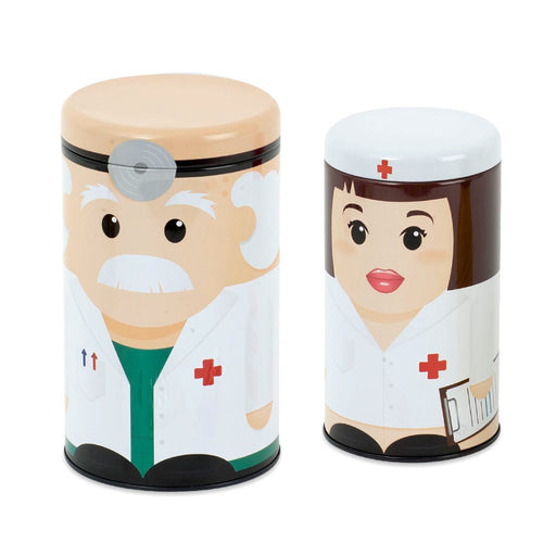 Medicine Box - Dr And Nurse Tin