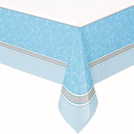 Tablecover Plastic - First Holy Communion Blessings - Blue