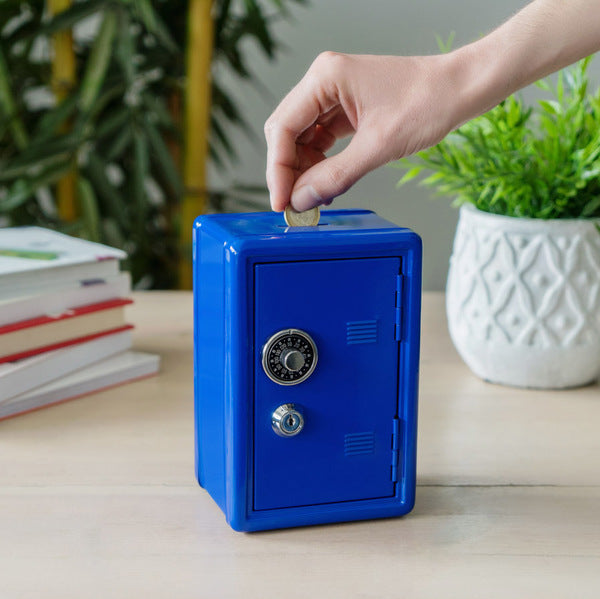 Coin Bank - Money Bank Blue