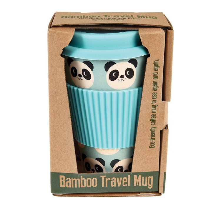 Miko the Panda Bamboo Travel Mug