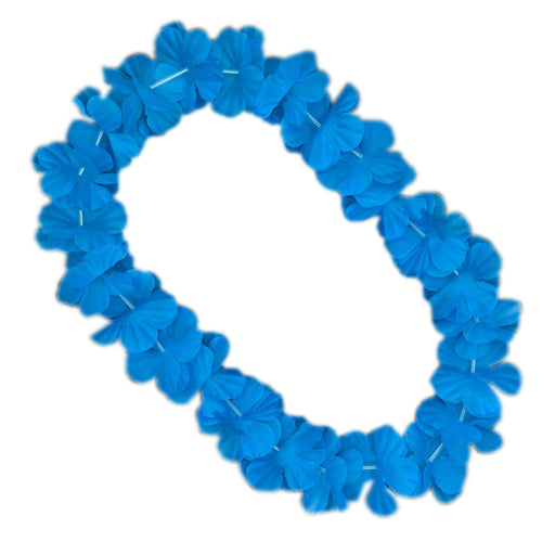 Hawaiin Garland Light Blue 9Cm