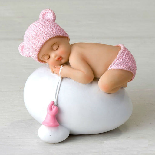 Cake Topper - Sleeping Baby Girl