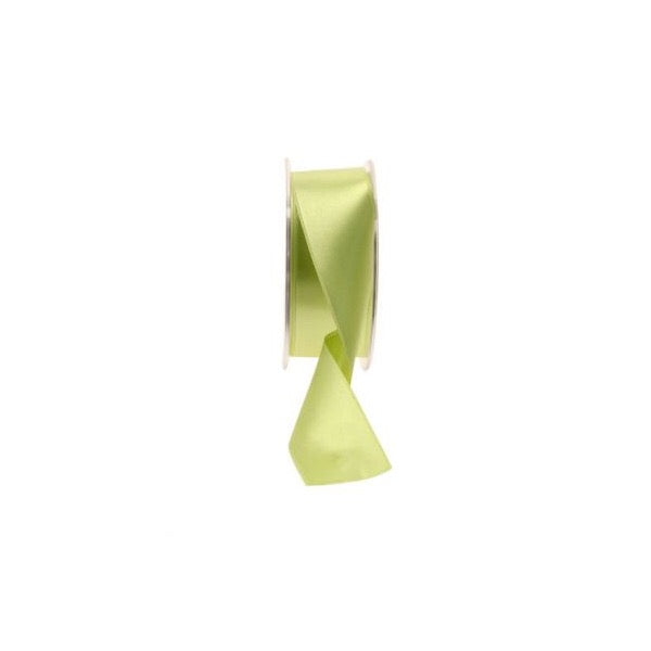 Satin Ribbon - 38mm - Fluorescent Yellow