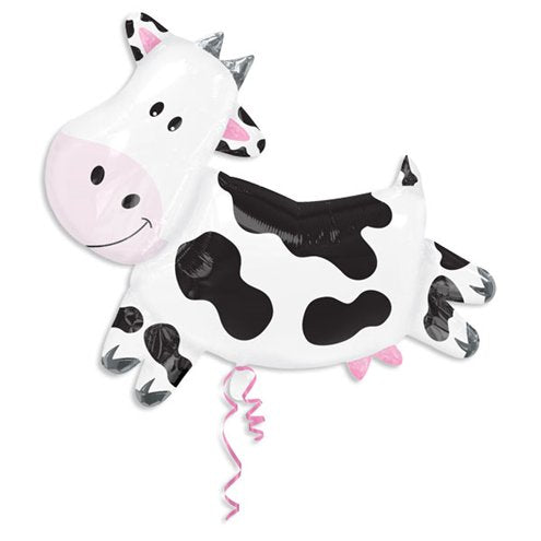 Supershape Cow Giant Birthday Balloon