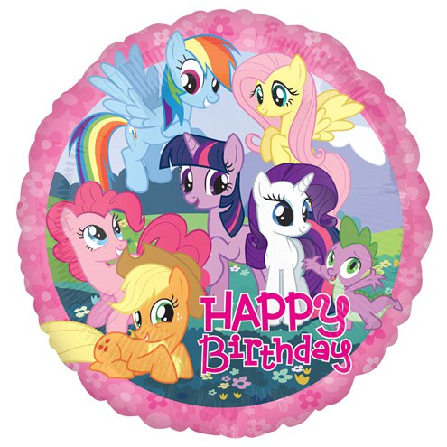 My Little Pony Happy Birthday Balloon