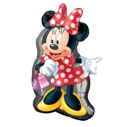 Balloon Foil Shape Minnie Mouse