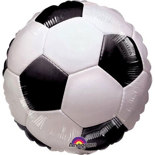 Football Striker Party 18'' Football Foil Balloon