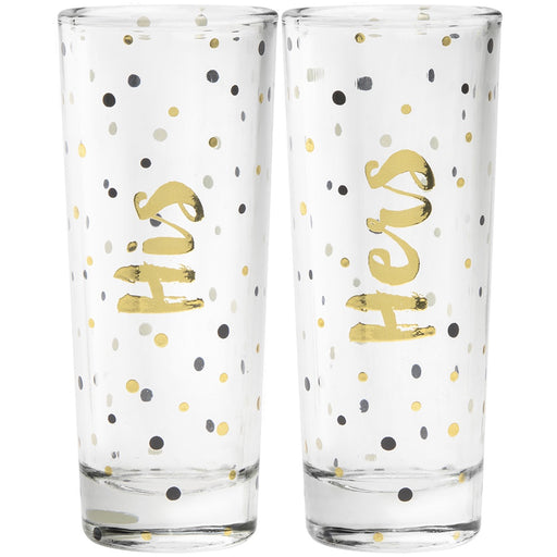 Shot Glasses - His & Hers Set