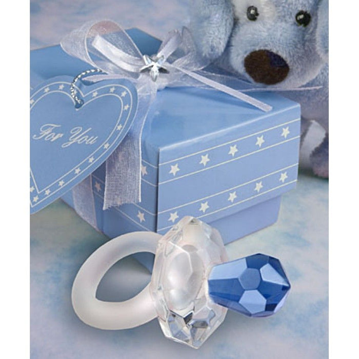 Crystal Blue Pacifier