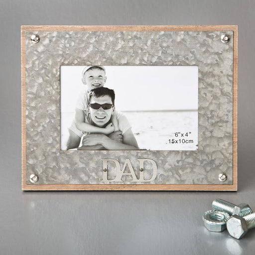 Dad Theme MDF Frame for 4x6 photo