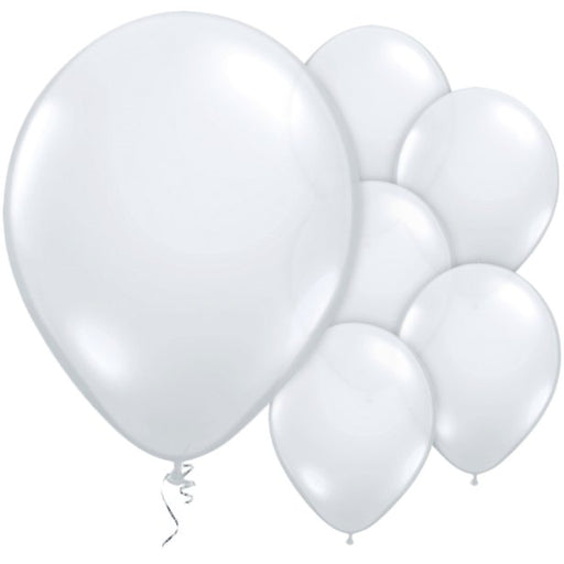 Balloon Latex Plain - Diamond Clear 11''