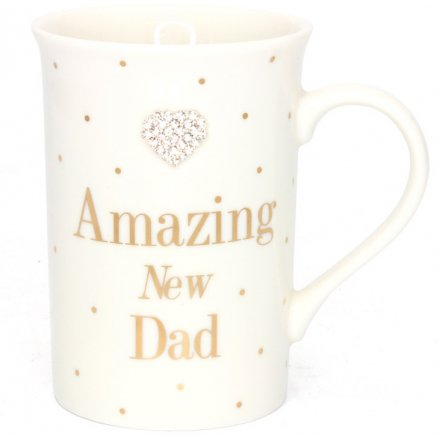 Mad Dots New Dad - Mug