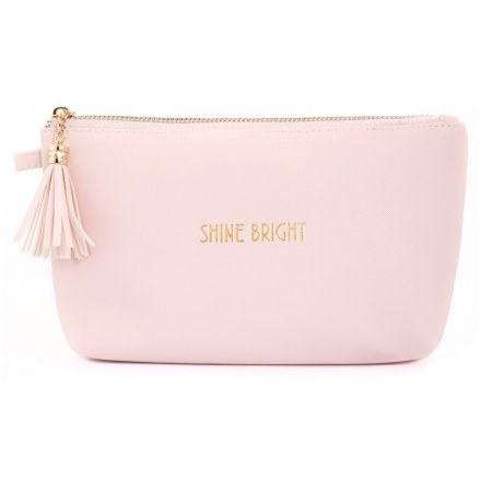 Shine Bright - Cosmetic Bag - Pink