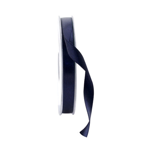 Satin Ribbon - 10mm - Navy Blue
