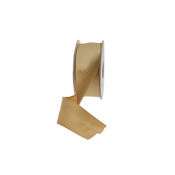 Satin Ribbon - 38mm - Gold