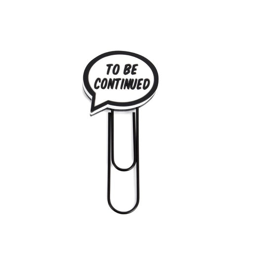 Bookmark Bubble - To Be Continued