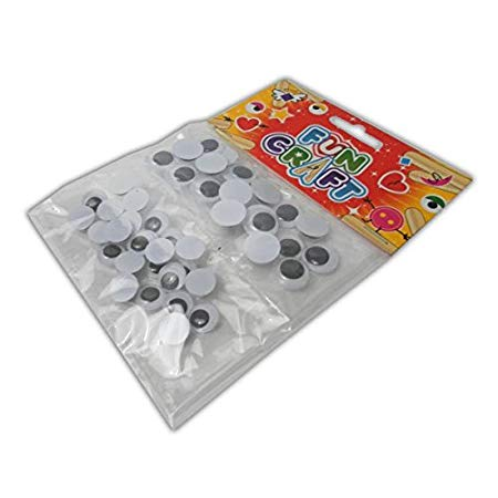 Craft Kit Googly Eyes - Small & Medium Size