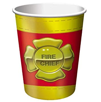 Firefighter Cups