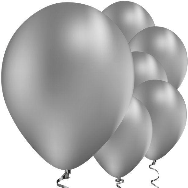 Balloons Latex - Chrome Silver - 11''