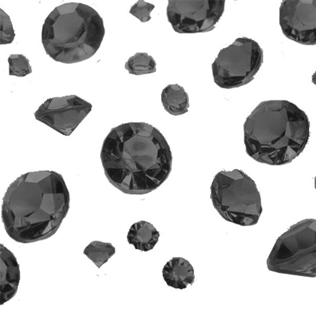 Black Gem Table Diamantes Assorted